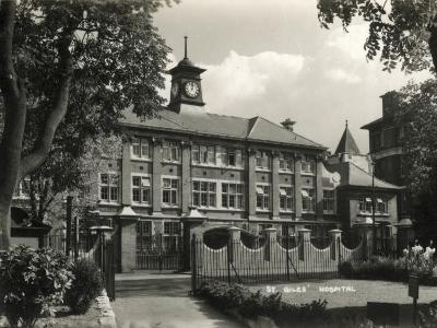 St Giles Hospital, Camberwell, London-Peter Higginbotham-Photographic Print