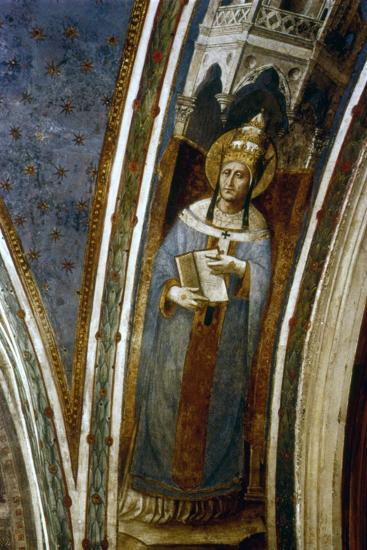 St Gregory, Mid 15th Century-Fra Angelico-Giclee Print