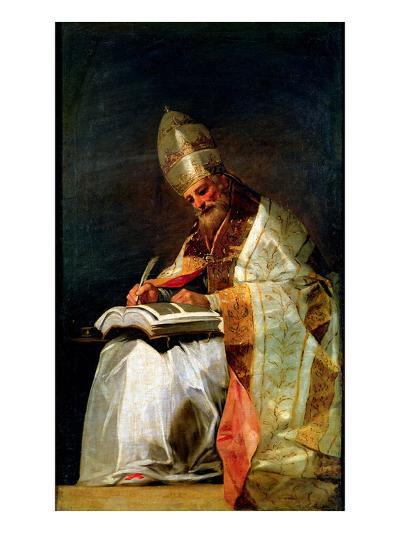 St. Gregory the Great, 1795-99-Francisco de Goya-Giclee Print