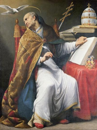 St. Gregory-Andrea Sacchi-Giclee Print