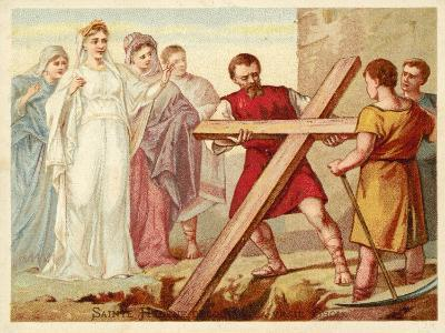 St Helena Discovering the True Cross--Giclee Print