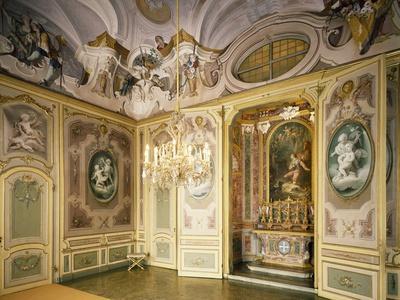 St Hubert's Ante-Chapel and Chapel, Stupinigi's Little Hunting Palace--Photographic Print