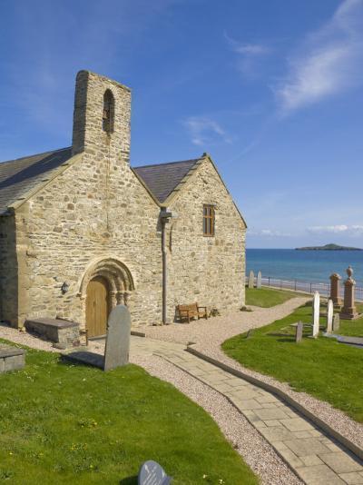 St. Hywyn's Church and Graveyard, Aberdaron, Llyn Peninsula, Gwynedd, North Wales, Wales, UK-Neale Clarke-Photographic Print