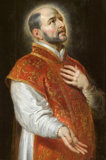 St. Ignatius, C.1600-Peter Paul Rubens-Giclee Print