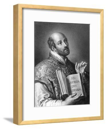 St Ignatius of Loyola, 16th Century Spanish Soldier and Founder of the Jesuits