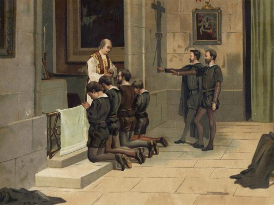 St Ignatius of Loyola, Founder of the Jesuits--Giclee Print