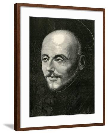 St. Ignatius of Loyola-Alonso Sanchez Coello-Framed Giclee Print