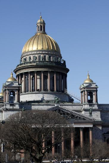 St. Isaac's Cathedral, St. Petersburg, Russia, Europe-Godong-Photographic Print