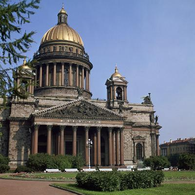 St Isaacs Cathedral in St Petersburg-CM Dixon-Photographic Print