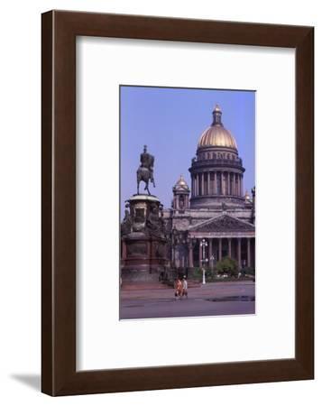 St. Isaacs Cathedral, Leningrad, c1960s-CM Dixon-Framed Photographic Print