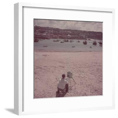 St. Ives Artists' Colony, Cornwall, England-Mark Kauffman-Framed Premium Photographic Print