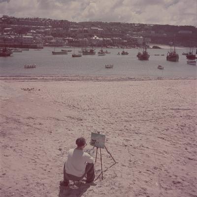 St. Ives Artists' Colony, Cornwall, England-Mark Kauffman-Photographic Print