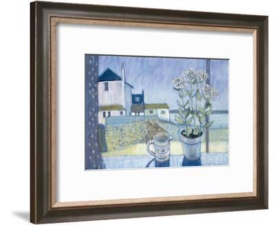 St. Ives Windowsill-Felicity House-Framed Giclee Print