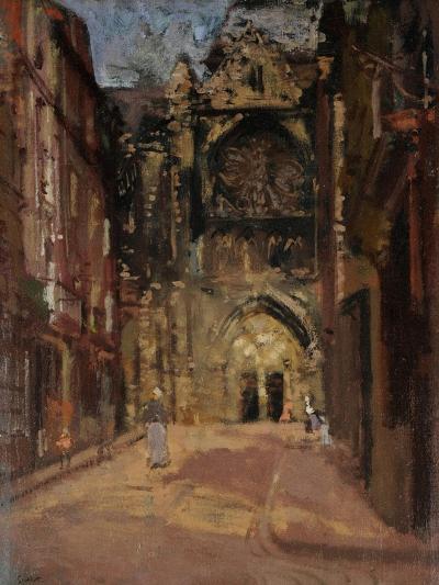 St Jacques, Dieppe, France, C.1900-Walter Richard Sickert-Giclee Print