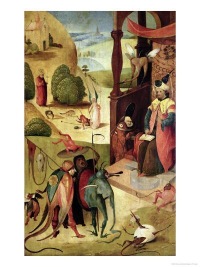 St.James and the Magician-Hieronymus Bosch-Giclee Print