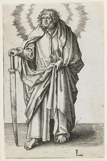 St. James Minor, 1510-Lucas van Leyden-Giclee Print