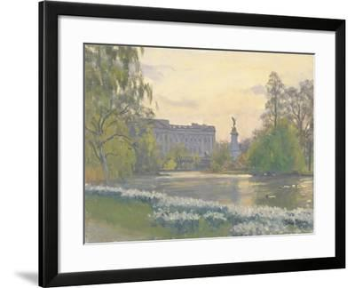 St James' Park, 2010-Julian Barrow-Framed Giclee Print