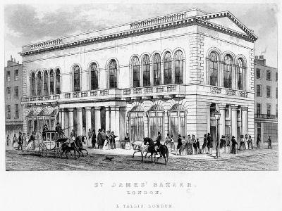 St James's Bazaar, Westminster, London--Giclee Print