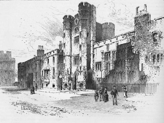 'St. James's Palace', 1886-Unknown-Giclee Print