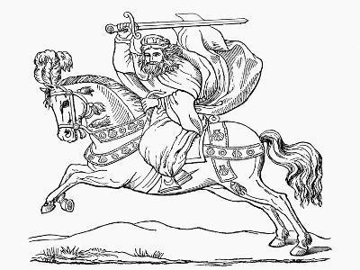 St James the Apostle, Patron Saint of Spain--Giclee Print