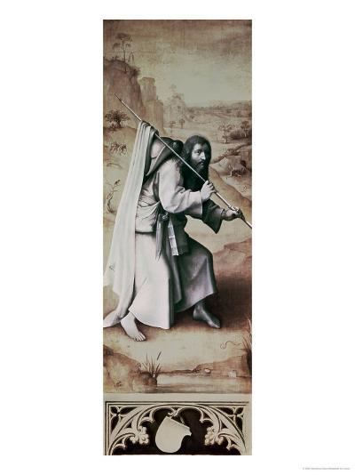 St. James the Greater, Exterior of Left Wing of Last Judgement Altarpiece-Hieronymus Bosch-Giclee Print
