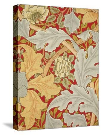 St James Wallpaper, Paper, England, 1881-William Morris-Stretched Canvas Print