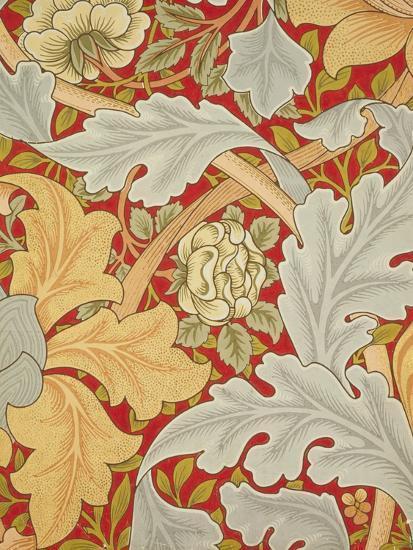 St James Wallpaper, Paper, England, 1881-William Morris-Giclee Print