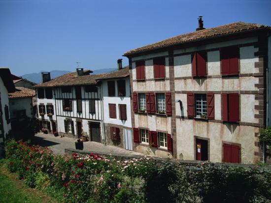 St. Jean Pied De Port, Pays Basque, Aquitaine, France, Europe-Nelly Boyd-Photographic Print
