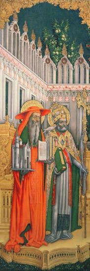 St. Jerome and St. Gregory--Giclee Print