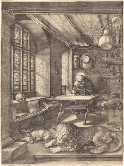 St. Jerome in His Study, 1514-Albrecht D?rer-Giclee Print