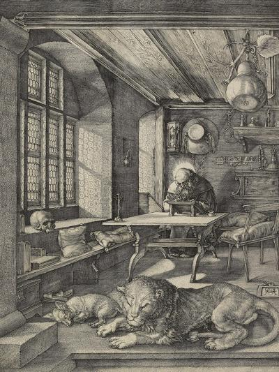 St Jerome in His Study, 1514-Albrecht D?rer-Giclee Print