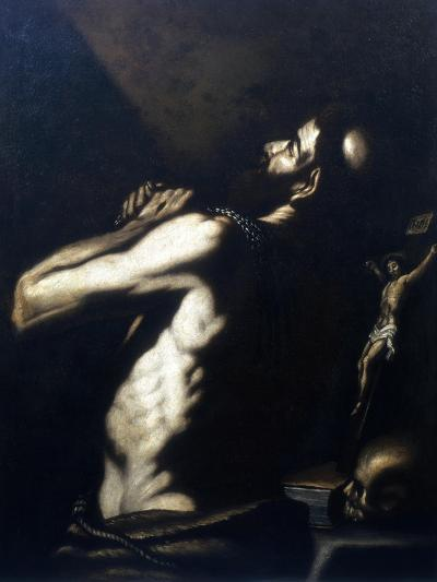 St Jerome, Late 16th-Early 17th Century-Louis Finson-Giclee Print