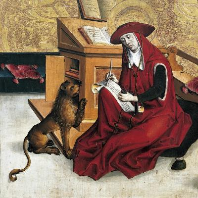 St Jerome, Panel from Altarpiece of Doctors of Church--Giclee Print