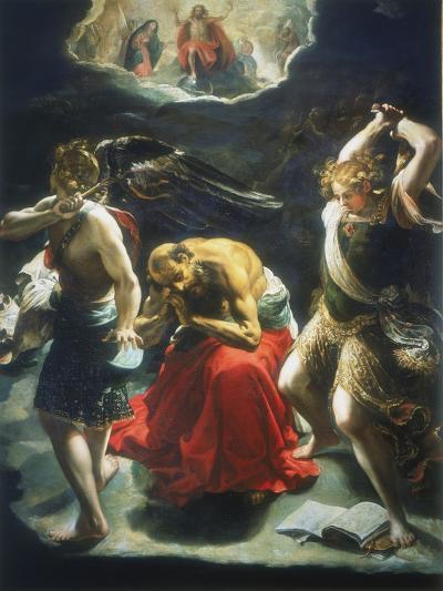 St Jerome's Dream, C1600-Orazio Borgianni-Giclee Print