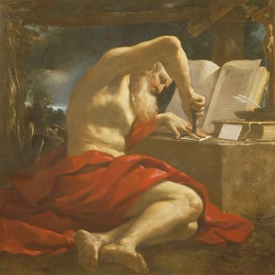 St. Jerome Sealing a Letter-Guercino-Giclee Print