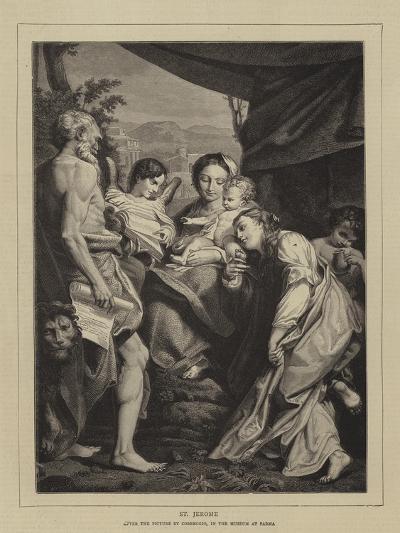 St Jerome-Correggio-Giclee Print