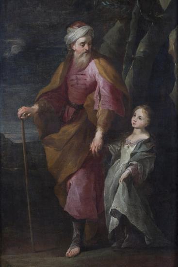 St Joachim and the Virgin Mary--Giclee Print