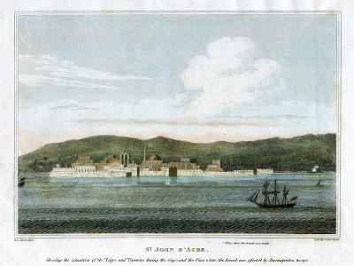 St John D'Acre, Palestine, 1825-Letitia Byrne-Giclee Print