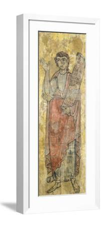St. John Evangelist, Detail from Triptych of Holy Saviour--Framed Giclee Print