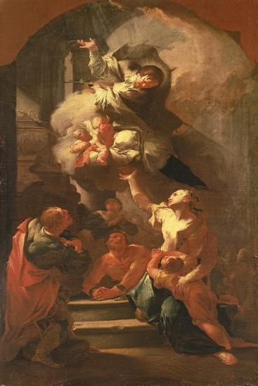 St. John of Nepomuk Comforting the Oppressed, C.1748-Paul Troger-Giclee Print
