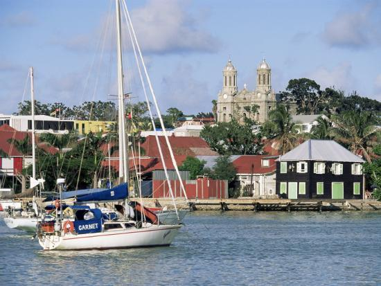 St. John's, Antigua, Leeward Islands, West Indies, Caribbean, Central America-John Miller-Photographic Print