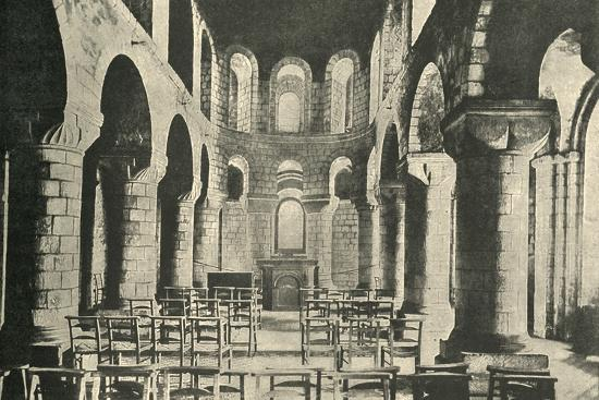 'St. John's Chapel, Tower of London, Norman Architecture', 1908-Unknown-Photographic Print