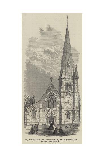 St John's Church, Horninglow, Near Burton-On-Trent--Giclee Print