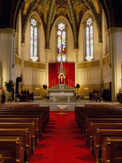 St. John's Church, Indianapolis, Indiana, USA--Photographic Print