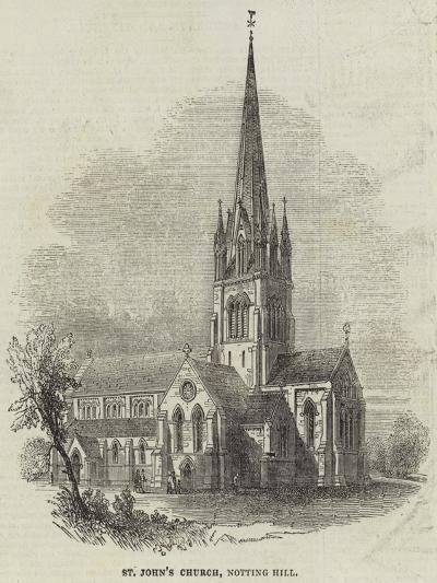 St John's Church, Notting Hill--Giclee Print