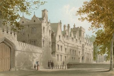 St. John's College - Oxford-English School-Giclee Print