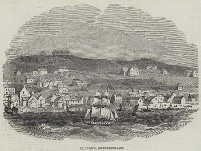 St John's, Newfoundland--Giclee Print