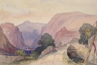 St John's Vale from Thirlspot, Lake District, 1840-John Harper-Giclee Print