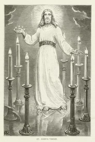 St John's Vision--Giclee Print