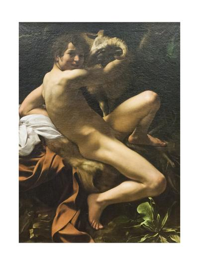 St John the Baptist, 1601-02-Michelangelo Merisi da Caravaggio-Giclee Print